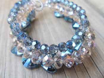 Types of crystal bracelets